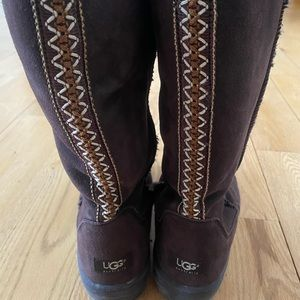 UGG Tall Chocolate Brown Tasman Boots